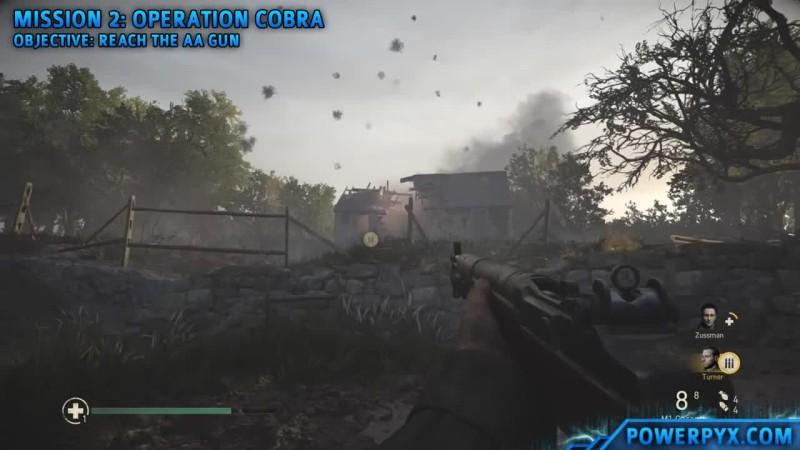 Call of Duty WW2 - Получение трофея Potato Masher (Mission 2).