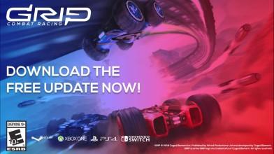 Трейлер обновления для GRIP: Combat Racing