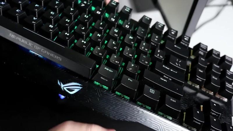 Обзор Игровой Клавиатуры Asus ROG Claymore