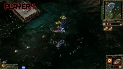 "Red Alert 3 ""Naval Co-Op Gameplay"""