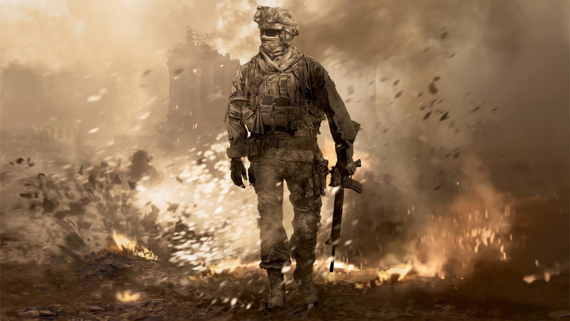 Намёк на анонс ремастера Modern Warfare 2