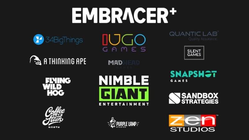 Embracer Group приобрела 12 игровых студий