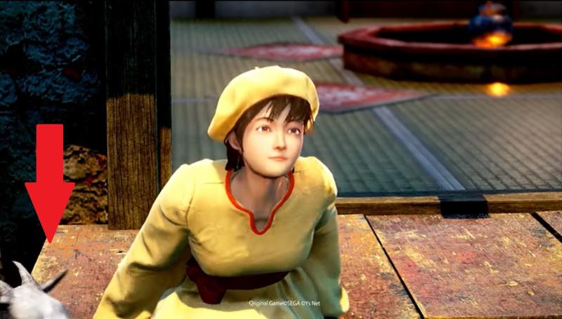 Один из первых скриншотов Shenmue III.