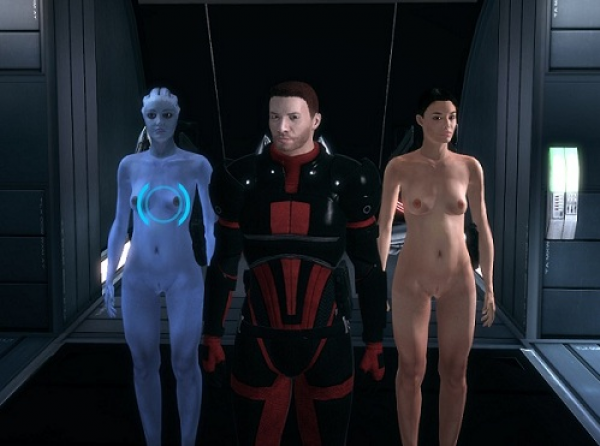 mass effect nude mods