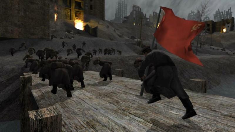 Советская часть оригинальной Call of Duty «заимствует» сцены и образы из фильма «Враг у ворот»