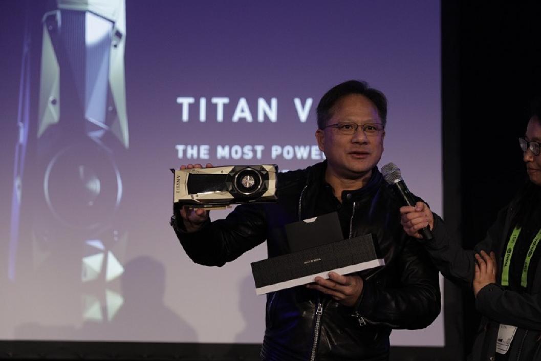 NVIDIA представила самую сильную видеокарту для ПК, Titan V