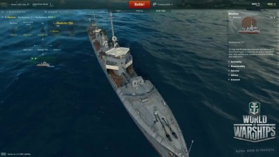 "World of Warships ""Первое видео в порту"""