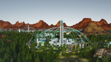 Релизный трейлер к выходу DLC Green Planet для Surviving Mars
