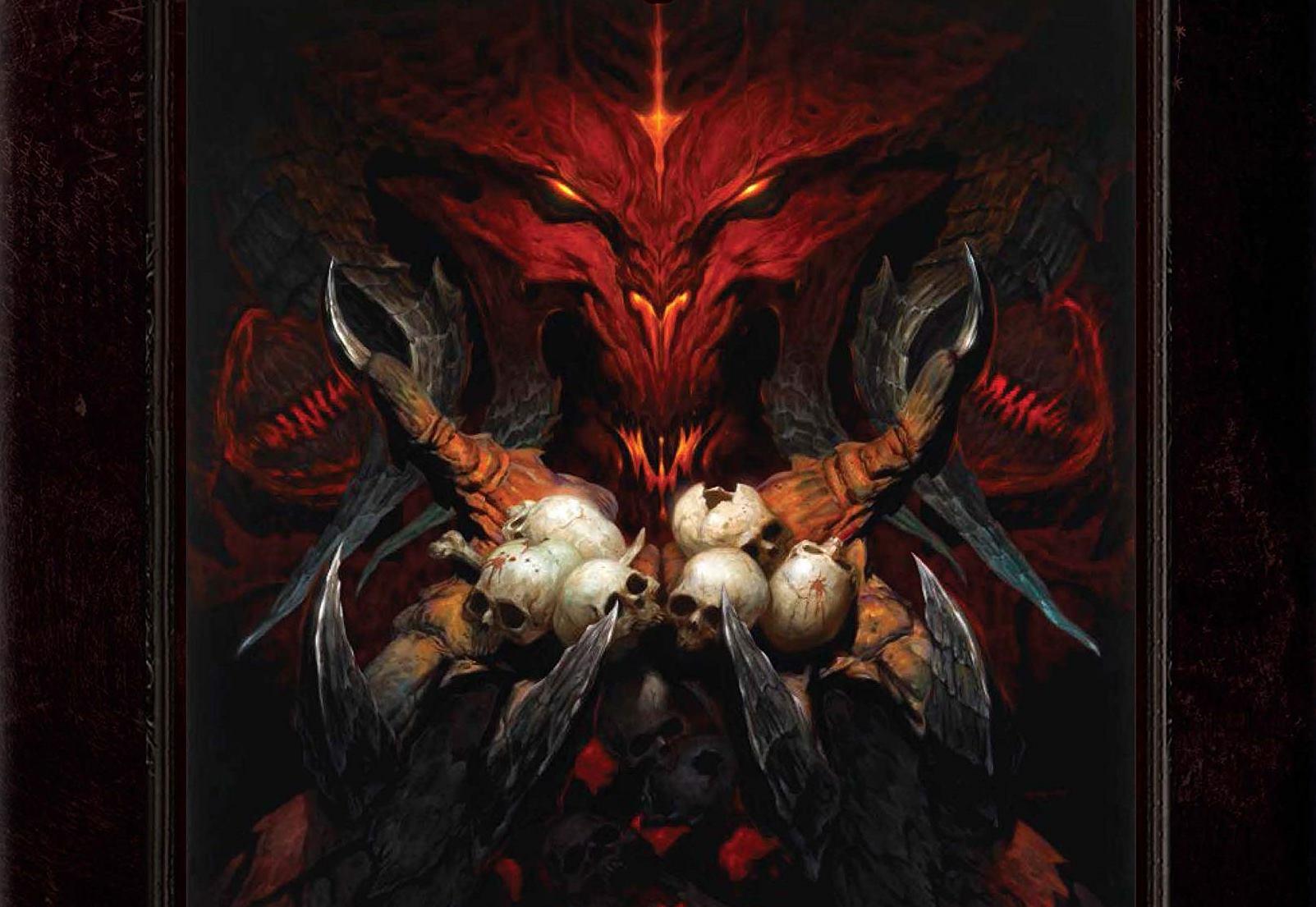 Обложка книги The Art of Diablo