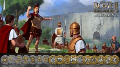 Список достижений из дополнения Rise of the Republic для Total War: Rome 2