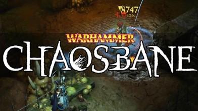 Геймплей за Конрада Воллена - одного из героев Warhammer: Chaosbane