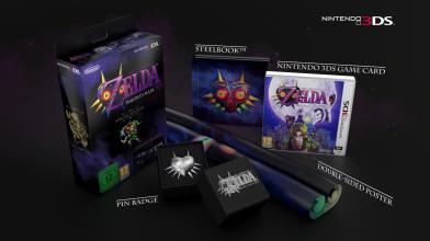 Специальное издание The Legend of Zelda : Majora's Mask 3D