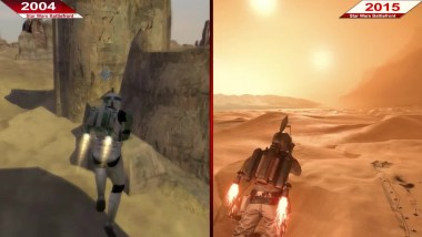 Сравнение | Star Wars Battlefront | 2004 против 2015 | ULTRA | PC | Часть 1