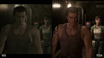 Resident Evil Zero HD Remaster Сравнение PS4 vs Wii (DigitalFoundry)