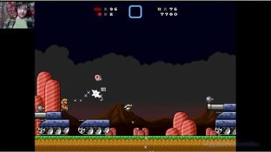 Super Mario Bros. X (v. 2.0) - The Invasion 2 - Финал- 8 уровень - Танковая вакханалия (на русском)