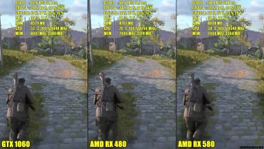 Sniper Elite 4 DX12 AMD RX 580 Vs GTX 1060 Vs AMD RX 480 1080p Сравнение