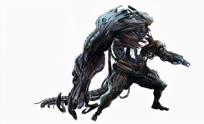 Концепт-арт для одной из битв с Призраком