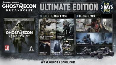 Виды изданий Tom Clancy's Ghost Recon: Breakpoint