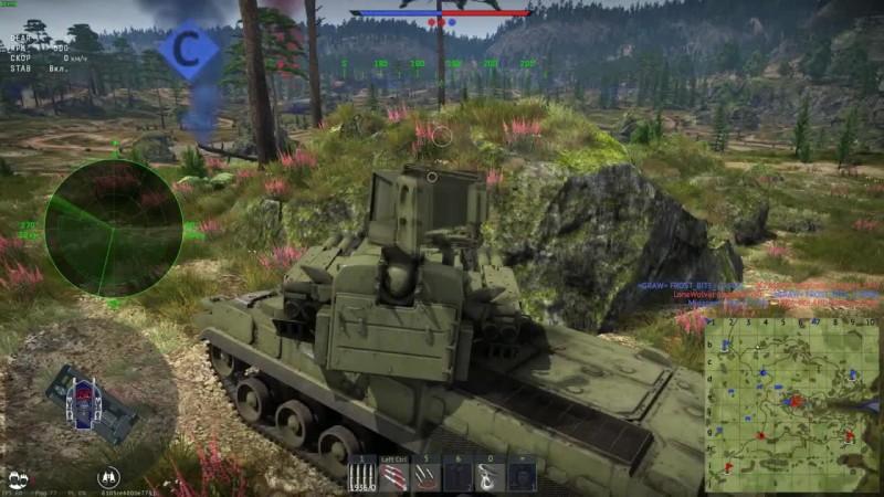 War Thunder - Тунгуска-топ зенитка обновления 1.87