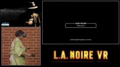 Олдфаги играют в L.A. NOIRE VR (React: Gaming)