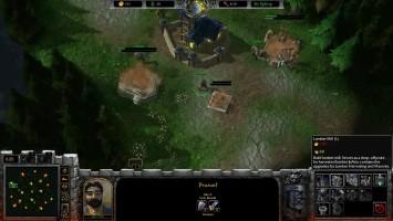 Геймплей фанатского ремейка WarCraft 3