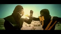 Mortal Kombat Scorpion VS Noob Saibot