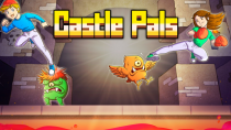 Релизный трейлер и видео игрового процесса ретро-платформера Castle Pals