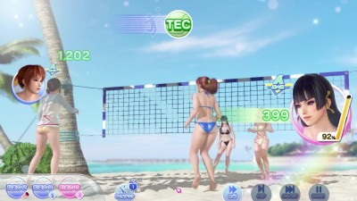 Dead or Alive Xtreme Venus Vacation - Геймплей PC-версии