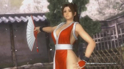 "Dead or Alive 5 Last Round ""Трейлер Mai Shiranui из The King of Fighters"""