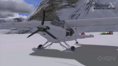 "Microsoft Flight Simulator X Steam Edition ""Трейлер"""