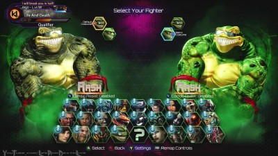 Killer Instinct - All Costumes - Character Select Screen Animations