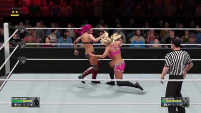 WWE 2K17 - Sasha Banks vs Charlotte