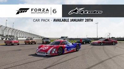 "Forza Motorsport 6 ""AlpineStars Car Pack"""