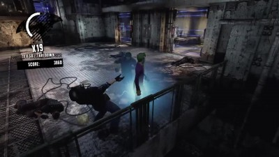 Batman: Return to Arkham - Arkham Asylum Joker Combat Challenge