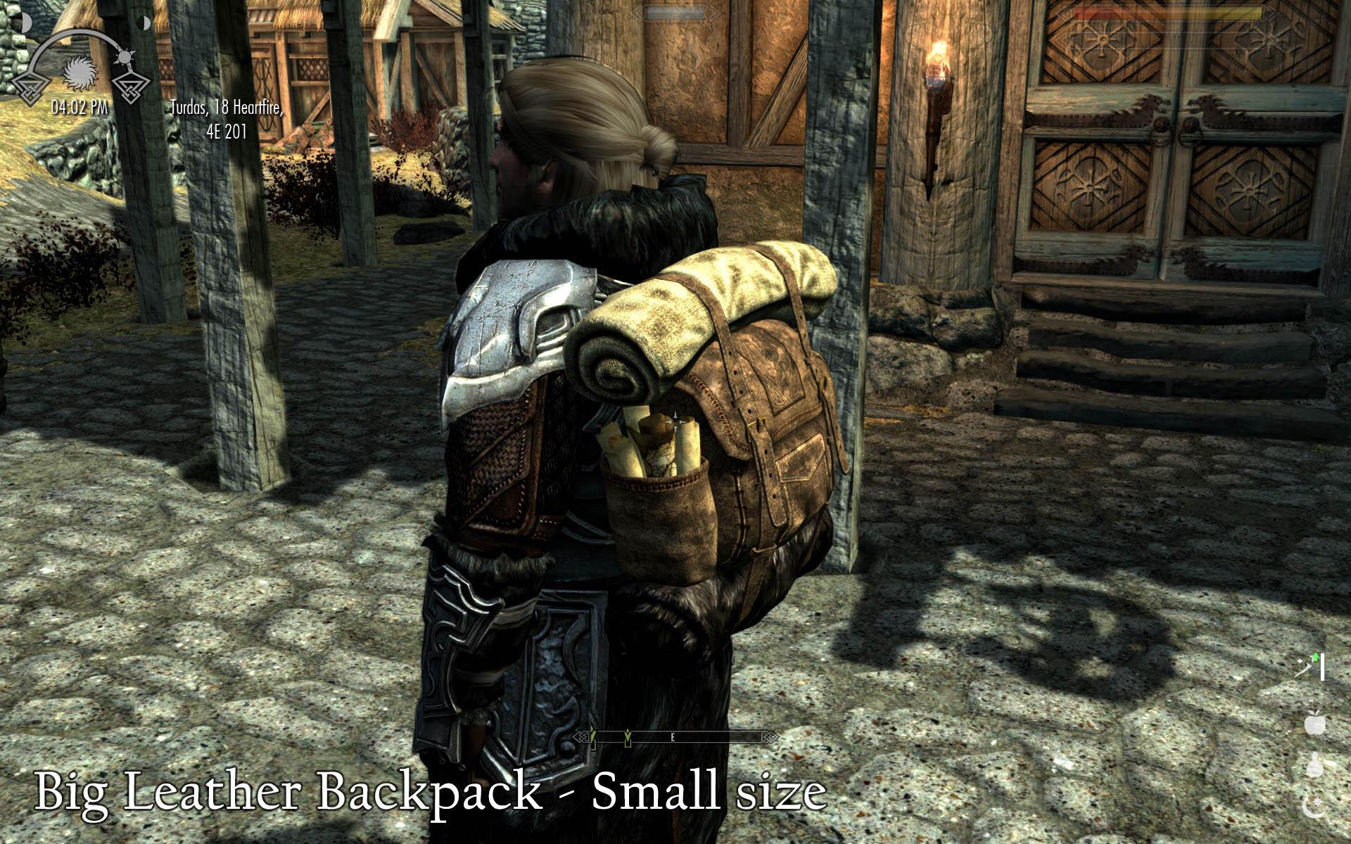 Скайрим рюкзаки у npc школьные рюкзаки sammies by samsonite
