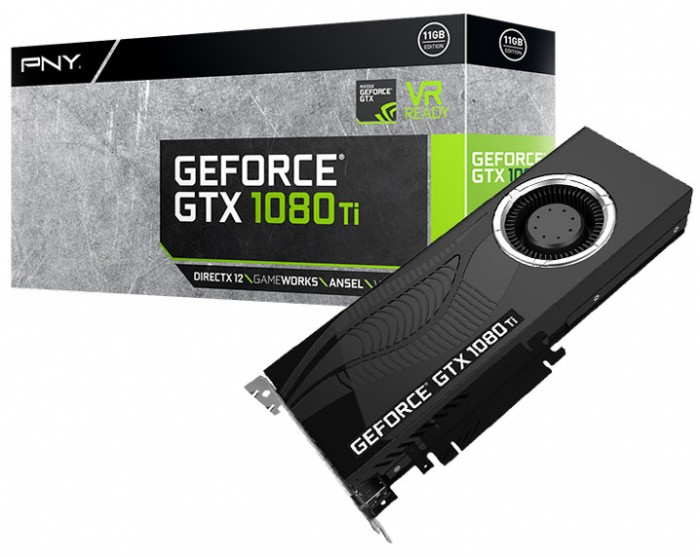Видеокарта PNY GeForce GTX 1080 Ti Blower Edition