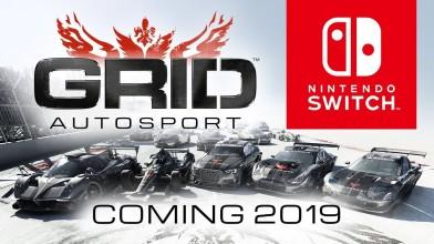 GRID Autosport выйдет на Switch