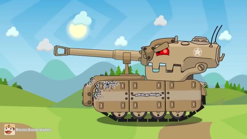 World of Tanks - Танкозила против Американского Прототипа