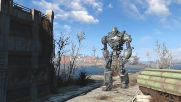 Fallout 4 мод Liberty Power Armor
