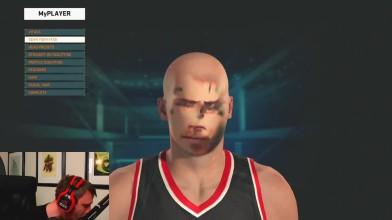 """NBA 2K15 """"Сканирование лиц"""""""