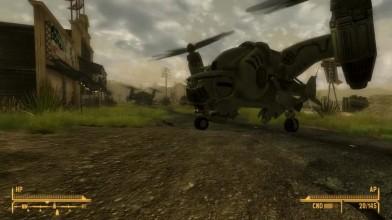 Полет на Вертобьерде НСР - Fallout New California