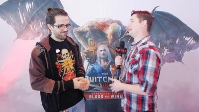 "The Witcher 3: Wild Hunt - Blood and Wine ""Интервью"" - PAX East 2016"