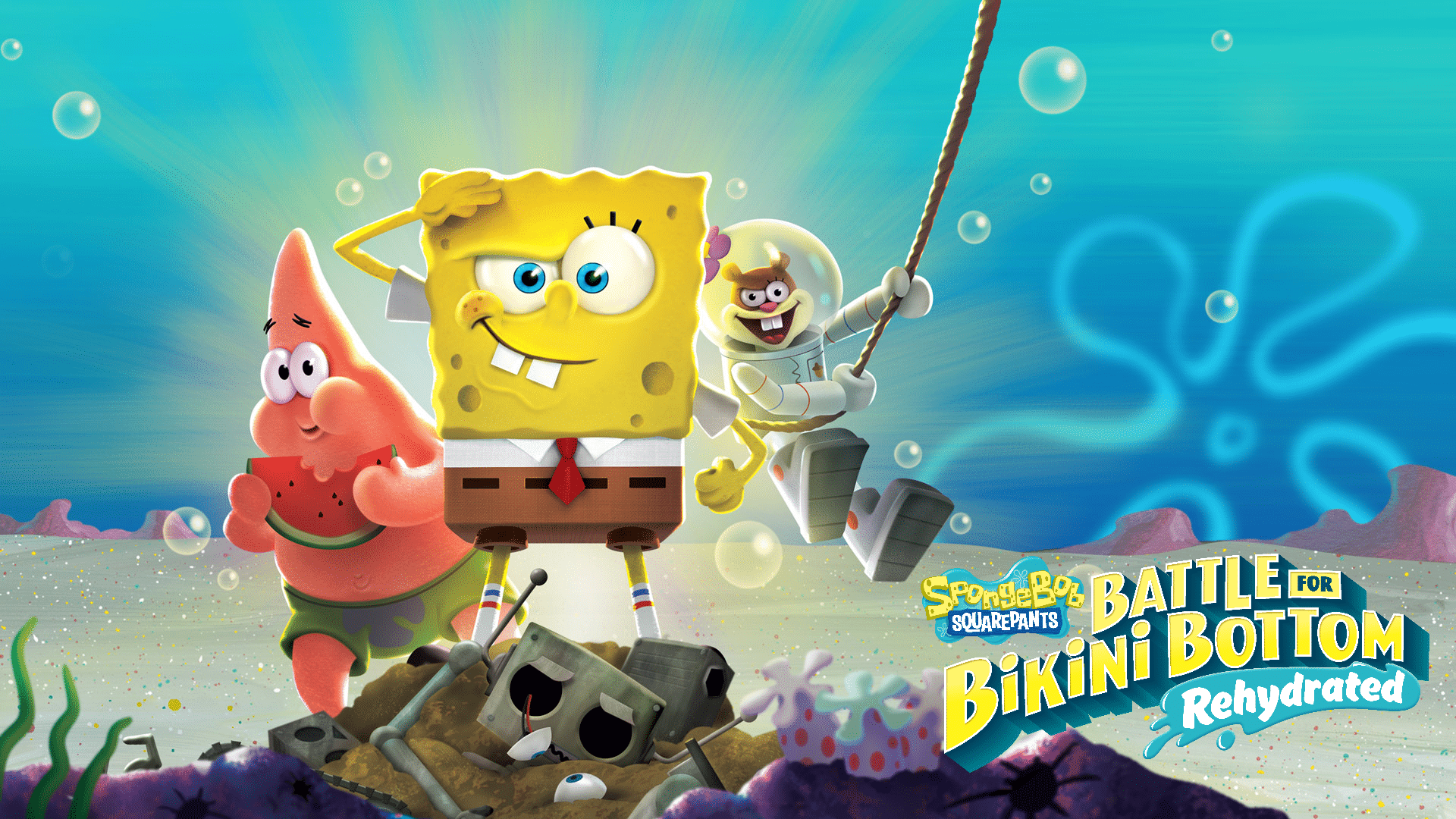 Информация о мультиплеере в SpongeBob SquarePants: Battle for Bikini Bottom - Rehydrated
