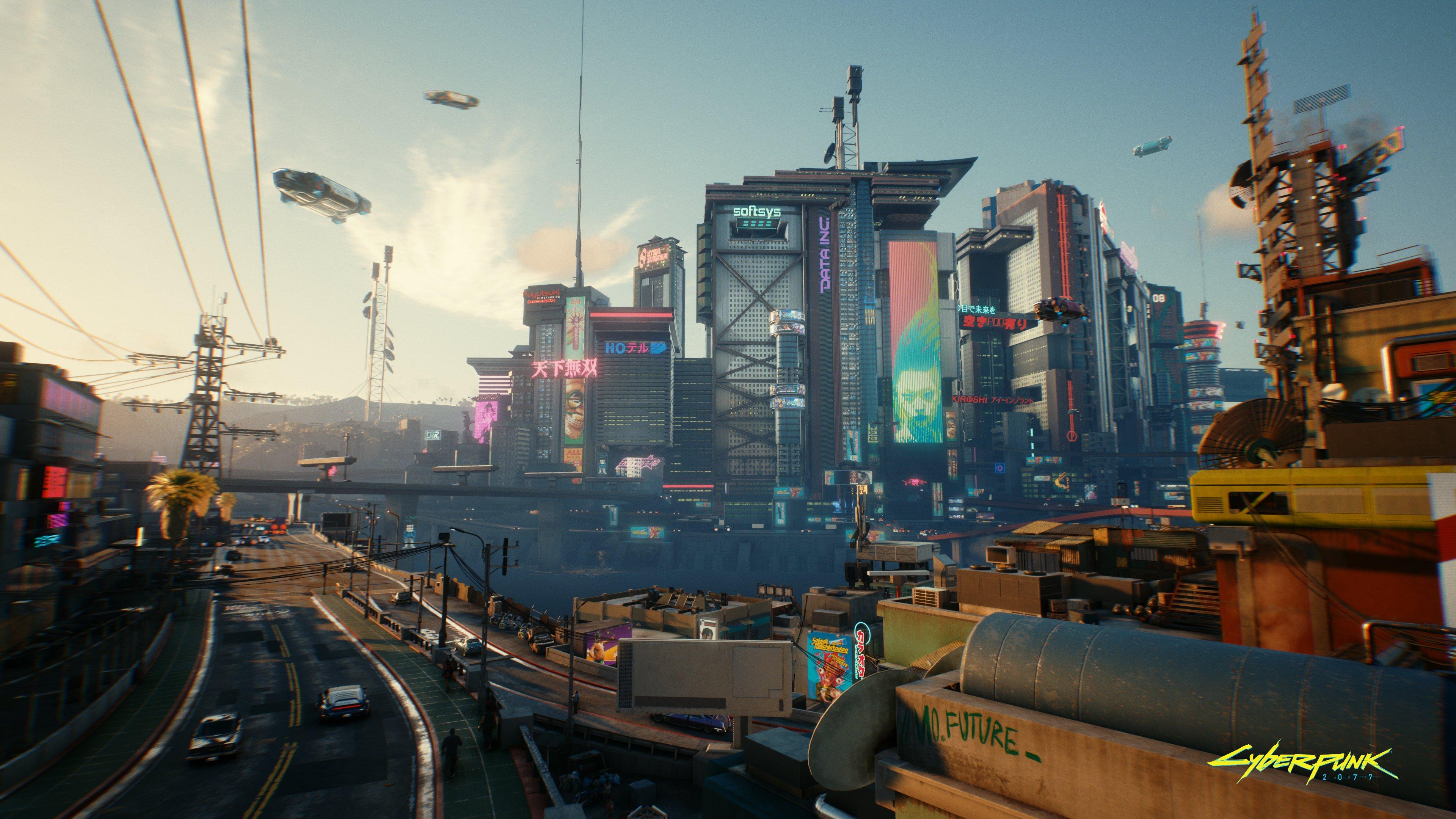 Три новых скриншота Cyberpunk 2077