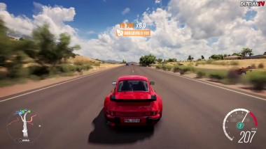 Forza Horizon 3 - Porsche 911 Turbo 3.3 Геймплей HD