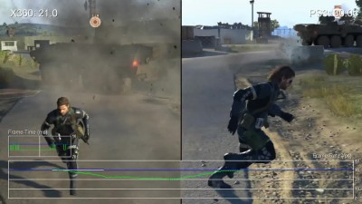 "Metal Gear Solid 5: Ground Zeroes ""Сравнение частоты кадров Xbox 360 vs. PS3 ""от Digital Foundry"