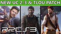 Эмулятор PS3 - TLoU & Uncharted 2-3 улучшение производительности и графики с новыми патчами!