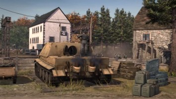 """Company of Heroes 2- The Western Fronts Armies """"Геймплейный трейлер"""""""
