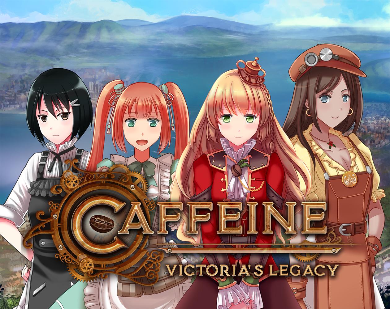 Релиз визуальной новеллы Caffeine: Victoria's Legacy