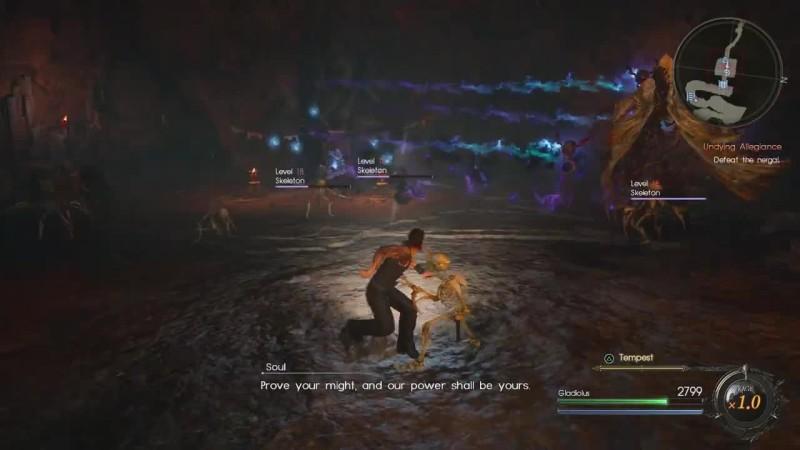 Final Fantasy 15 - Все боссы DLC Гладиолуса